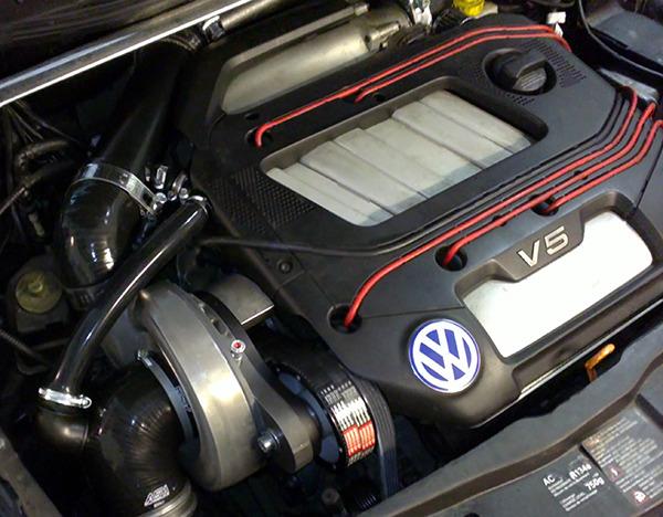 Ein V5 Mit Turbo Motortuning Turboumbauten Chiptuning