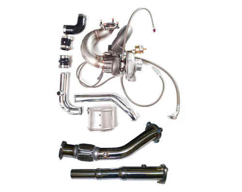 Turbokit 1.8T Golf 4, Audi A3, TT plug&play mit Garrett GT2871R + Downpipe 76mm