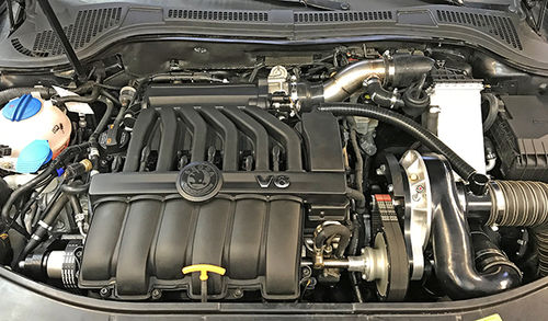 R36, 3.6 FSI, 3.2 FSI, Passat GT, Superb, Supercharger Kit Stage 2